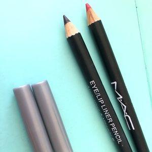 Mac Eye/Lip Liner Pencil Aloe Vera Vitamin E 2pc